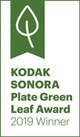 Kodak Senora Plate Green Leaf Award