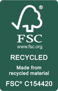 logo FSC® recycled